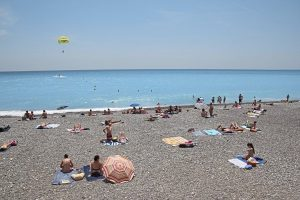 The beach in Nice France tours